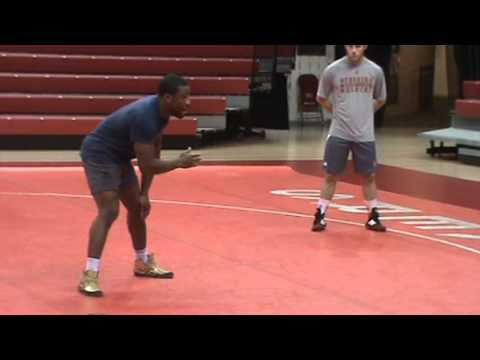 Nebraska Wrestling Coaches Clinic 2013 14 Jordan Burroughs technique 1  stance & motion