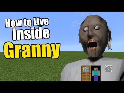 [Entertain Channel] How to Live Inside Granny   Minecraft PE