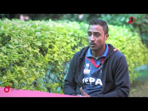 ICONS OF NEPAL : PARAS KHADKA ( Captain of National Cricket Team Nepal)