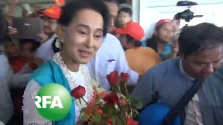Suu Kyi Campaigns in Myanmar's Troubled Rakhine State