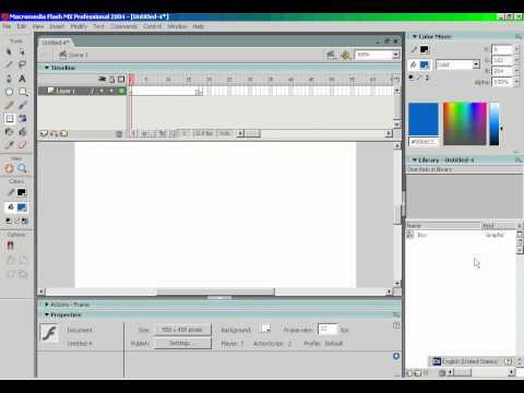 Adobe flash mx 2004