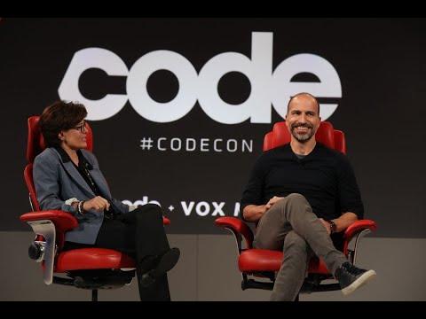 Uber CEO Dara Khosrowshahi | Full interview | Code 2018