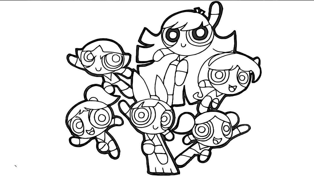 coloring book ~ Powerpuff Girl Coloring Pages For Kids Remarkable ... | 720x1280
