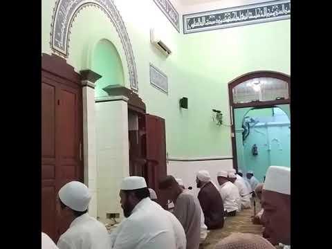 Takbiran Habib Syech Bin Abdul Qodir Assegaf di Masjid Jami Assegaf Solo