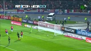 Copa América: México 3-3 Chile