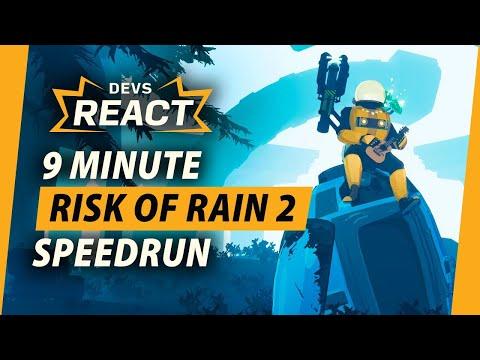 Risk of Rain 2 Developers React to 9 Minute Speedrun