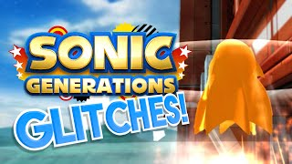 3D CLASSIC SONIC! (Sonic Generations GLITCHES) - What A Glitch! ft. AntDude