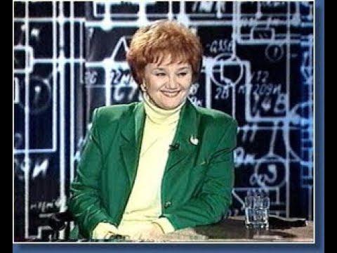 """Тамара Синявская в программе """"Старый телевизор"""". 1998 г."""