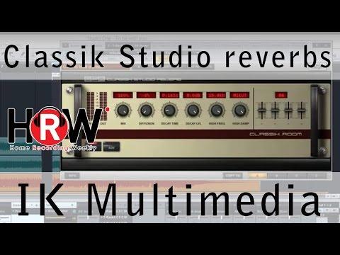Classik Studio Reverb from IK Multimedia