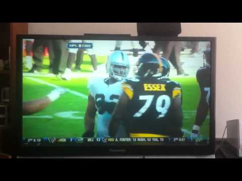 Richard Seymour hits Ben Roethlisberger
