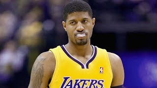 Paul George Inching Closer to JOINING the Lakers