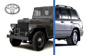 Toyota Land Cruiser Evolution (1951-2018)