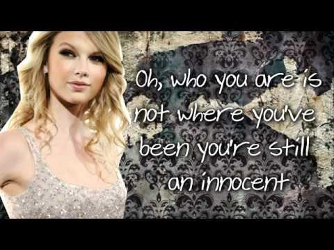 YouTube   Taylor Swift   Innocent lyrics & download