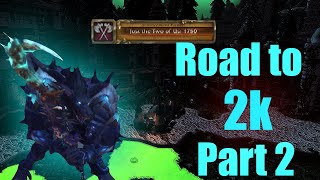 Road to 2K Part 2 | Unholy Death Knight PvP | WoW BFA 8.1