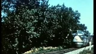 Big Trains Rolling (Old Railroad Film of train use)