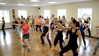 Реггетон/Reggaeton в Томске - Открытый урок 27.09.2015- Школа танцев Драйв