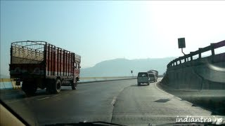 travel india@expressway-early morning lovely drive on mumbai-pune express highway-maharashtra-india