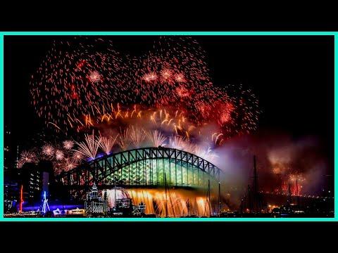Año Nuevo en AUSTRALIA - SYDNEY - FIREWORKS - HAPPY NEW YEAR | Mi Vida en Australia