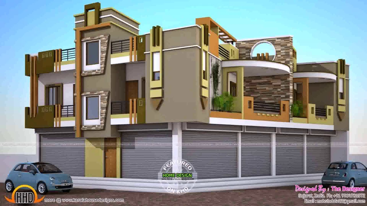 House Design With Ground Floor Parking - DaddyGif.com (see ...