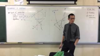 Finding Points of Intersection Using Quadratics