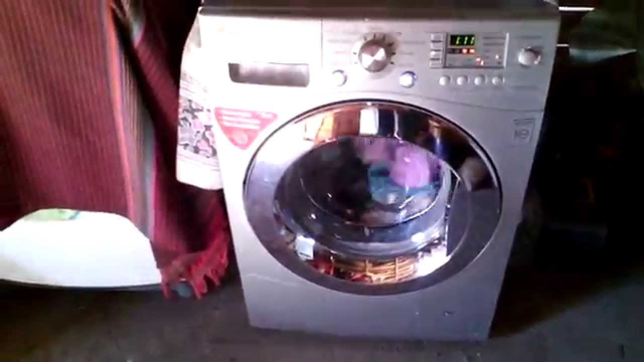 lavadora washing machine lg direct drive 10 kg youtube. Black Bedroom Furniture Sets. Home Design Ideas