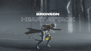 BRONSON - 'HEART ATTACK (feat. lau.ra)' (Official Video)