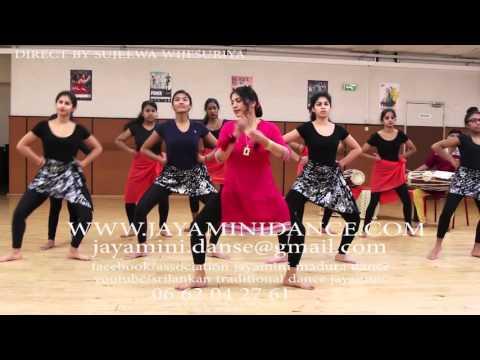 sri lankan traditional dance pasaraba 7-12  jayamini madura dance academy in paris