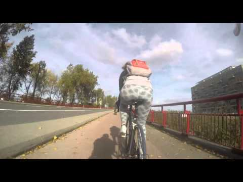Bike trip to Schellingwoude over the Oranje sluizen