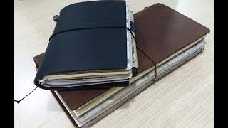 Traveler's Notebook October Insert Setup - Coffee, coffee & coffee! (Ft. Starbucks Reserve Roastery)