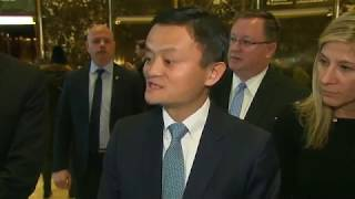 China's Ma reverses US job plan due to trade war