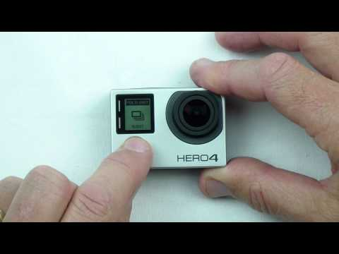GoPro HERO4 - How to set up & use Quikcapture Mode
