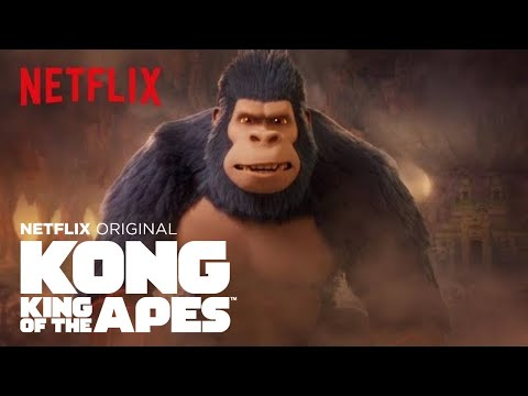Kong: King of the Apes | Season 2 Trailer [HD] | Netflix