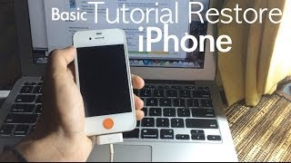 Cara Restore iPhone (Basic) - iKaskus Indonesia