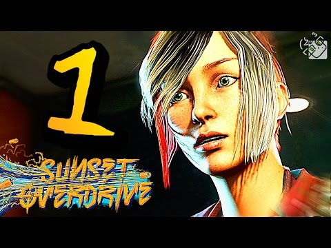 Sunset Overdrive Gameplay Walkthrough - Part 1 - FULL GAME - Intro/Mission 1 (XB1 1080p HD)