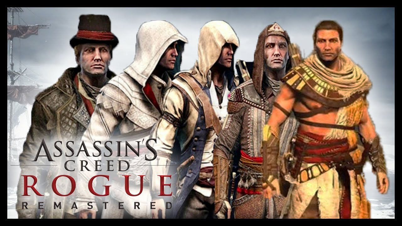Les Costumes De Assassin S Creed Rogue Remastered Youtube