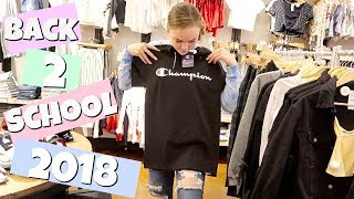 BACK TO SCHOOL SHOPPING 2018 | 8TH GRADE | TEEN SHOPPiNG VLOG