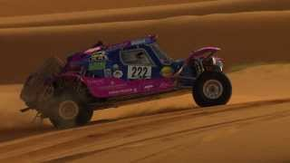 AFRICA ECO RACE RESUME ETAPE 10