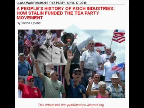 Kochs Started Tea Party With Stalin