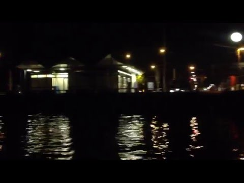 Lake Zurich Night Boat