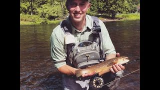 Fly Fishing Pine Creek at Slate Run