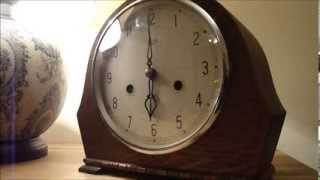 "1950/51 Smiths Enfield Mechanical Clock ""The Devon"""