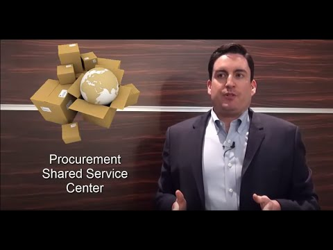 Maximize the Value of your Procurement Shared Service Center- IT Convergence