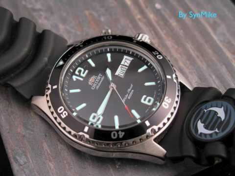 Orient Mako Automatic Watch Luminescence Demonstration