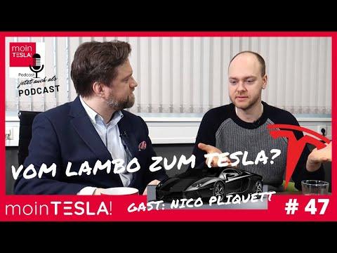 Moin Tesla! #47 - Vom Lambo Zum Tesla! Nico Pliquett - Seine Meinung über Tesla, Taycan Und EQC