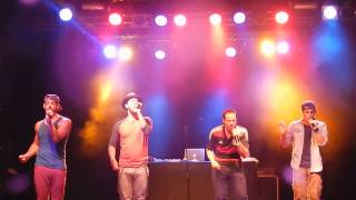 "O-Town ""Money on my mind"" (Sam Smith Cover) C-Club Berlin 18.06.2014"