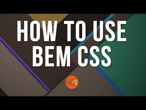 BEM CSS How To Apply BEM To Your Classes (CSS Tutorial 2/2)