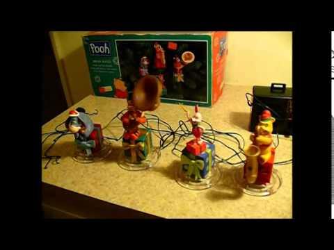 Winnie the Pooh Brass Band Mr Christmas