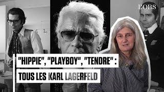 Karl Lagerfeld raconté en 9 photos historiques par Sophie Fontanel