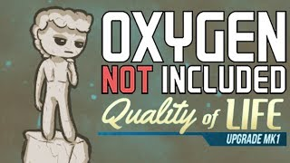 Growing the Space Hamlet - Oxygen Not Included Gameplay - Quality of Life Upgrade - QoL Upgrade