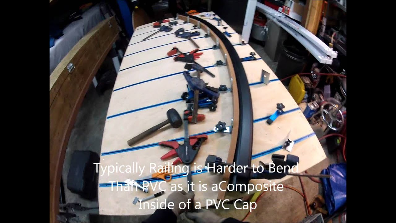 PVC Deck Board and Rail Kit Bending